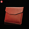 Wholeslae factory leather laptop hard case/bags in plain simple style with notebook shape for promotion gifts