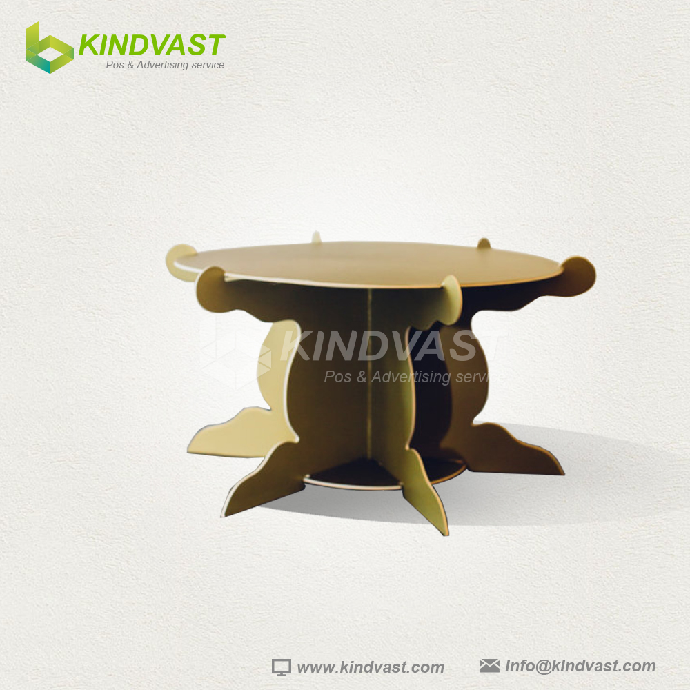 decorative small cardboard table
