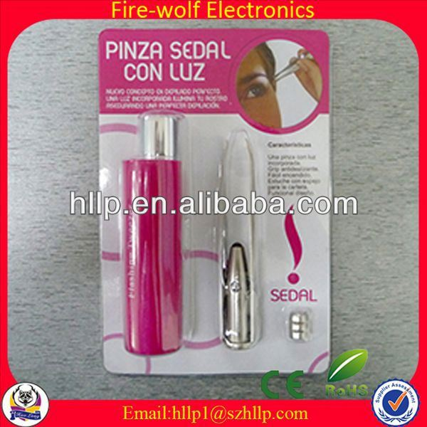 High quality promotion / advertising automatic eyebrow tweezers