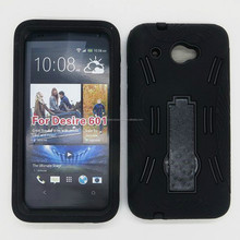 For HTC Desire 601 Fashion Kickstand Case Covers