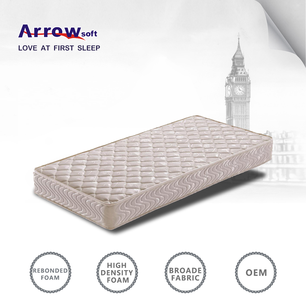 cheap rebonded foam mattress