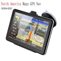 7 inch HD Car GPS Navigation FM 8GB 256M DDR sd card Map Free Upgrade Navitel Europe Sat nav Truck gps navigators automobile