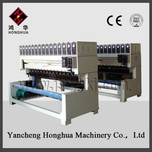 Automatic various types of chemical fiber fabrics/ leather embossing machine