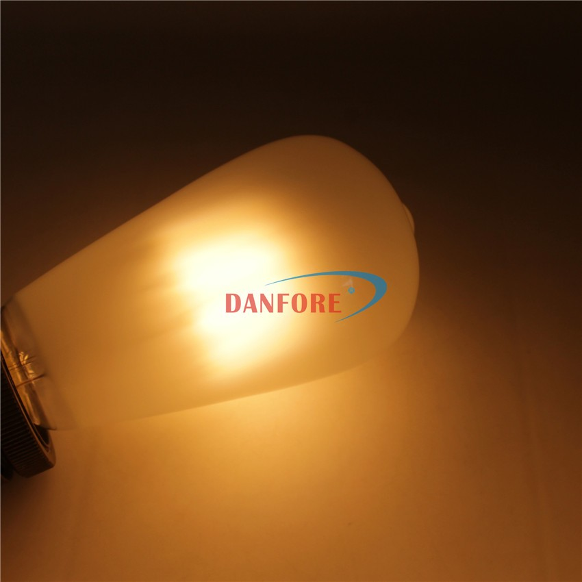 New product 2016 Dimmable S21 ST64 Frost glass led bulb