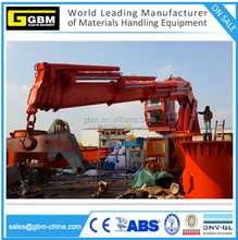 Used Small size ship folding boom marine crane for sale with BV CCS CE Certification