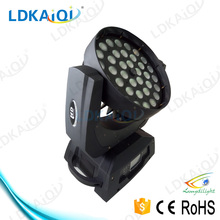 pro sound and lighting 36*10W led moving head rgbw wash light led head zoom