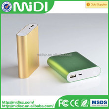 2016 Generic electronics products portable power bank 10400mAh