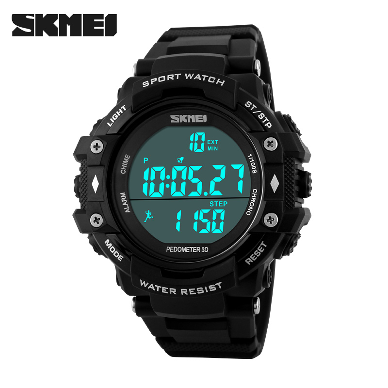 SKMEI brand plastic military japan movement watches #1128