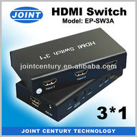 Hot Sell Factory Directly 3 in 1 out HDMI Switch