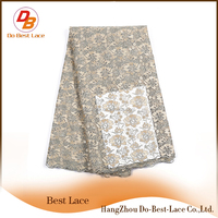 Do Best Heavy Net African Lace Fabrics High Quality 5 Yards