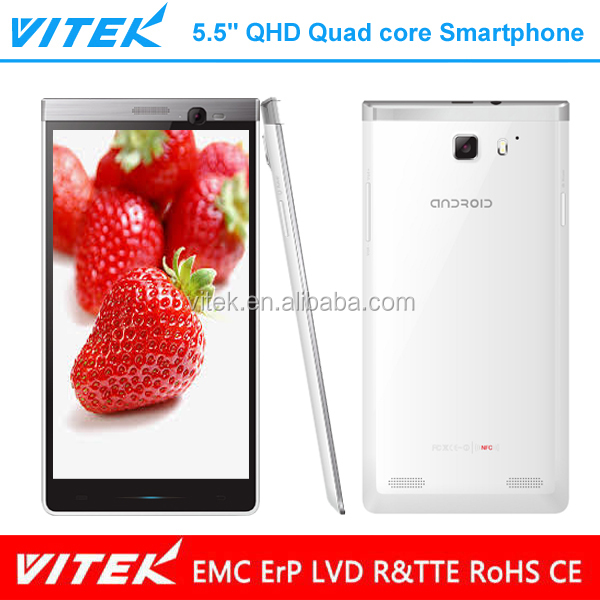 Hot selling 5.5 inch QHD IPS mtk6589 quad core android smartphone