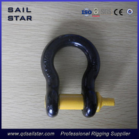 Heavy duty safety pins BOW SHACKLE G209 for marine