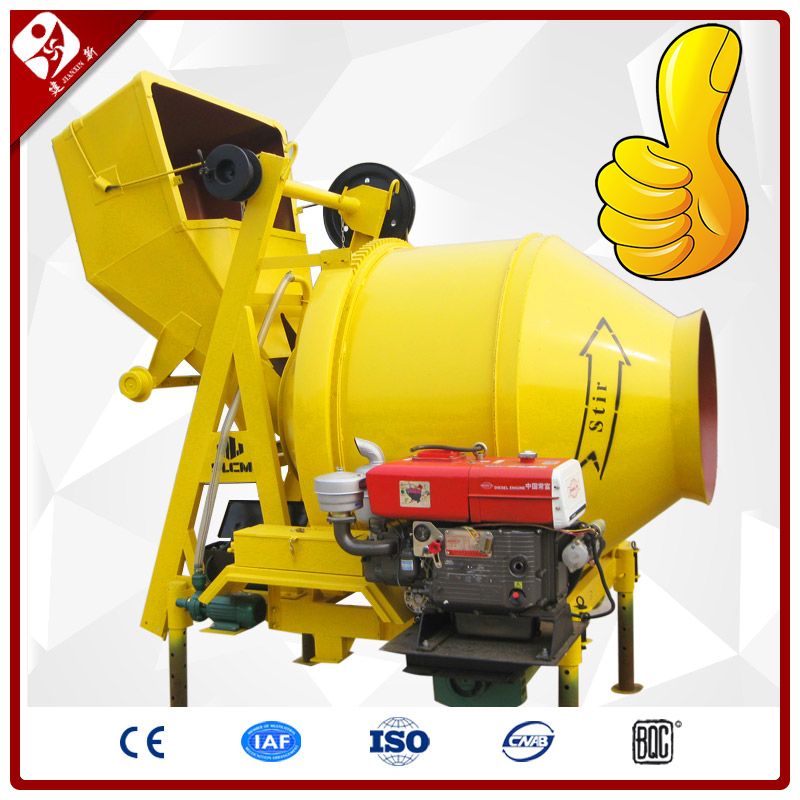 Amazing Price Used Portable Diesel Concrete Mixer For Sale