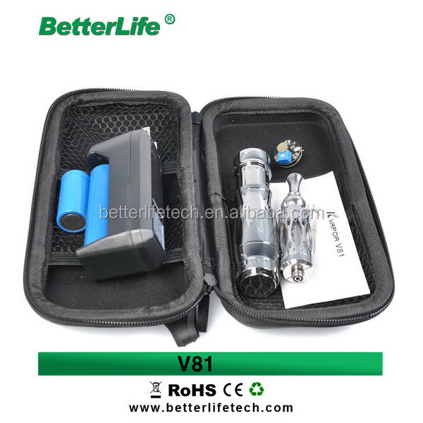 2015 Betterlife mod ecig mod battery vaporizer Kvapor V81 full mechanical mod
