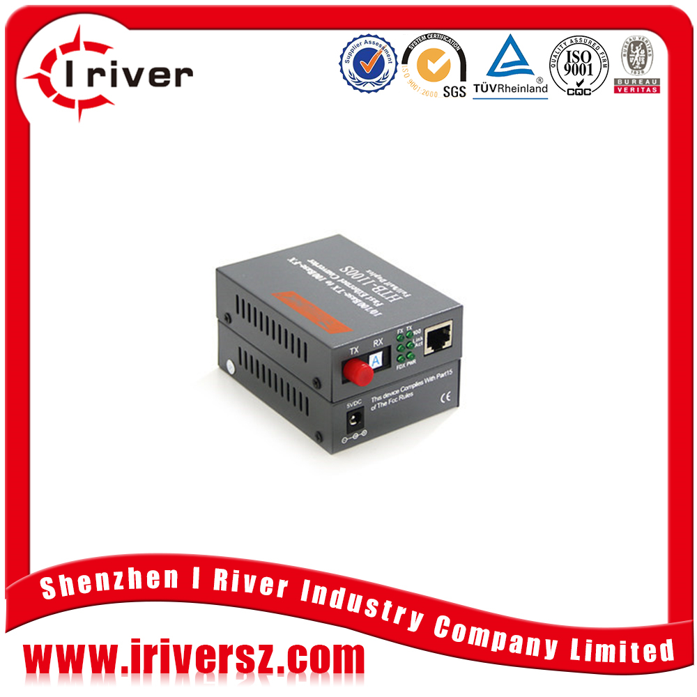 Stable quality Cheap price rack mount media converter FTTH 2KM to 120KM optical ethernet converter