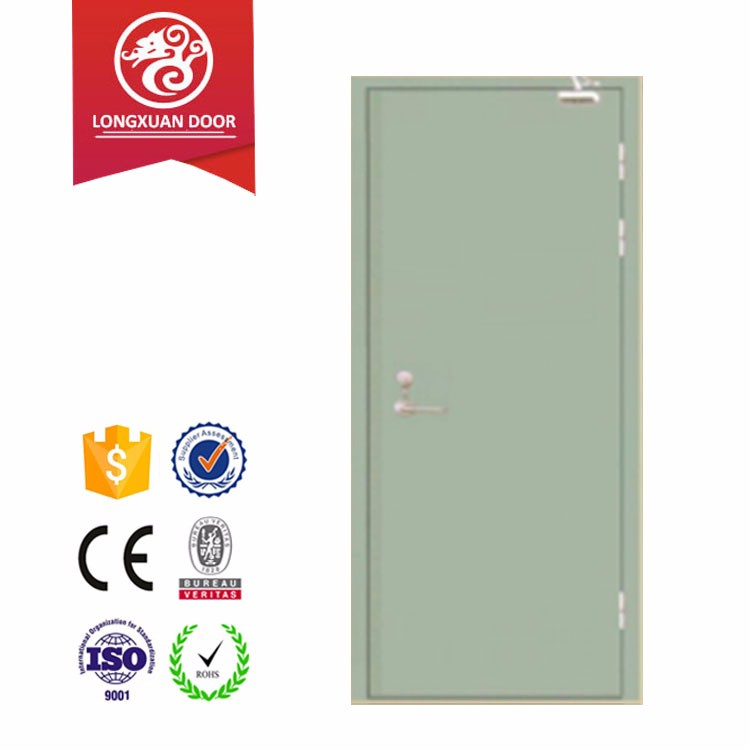 Higher grade BS/UL ceritficate approved fire rated test steel door,design for decorative project