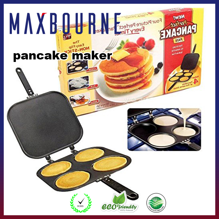 Perfect Pancake Maker Mini Nonstick Pancake Pan Shape Omelette Maker