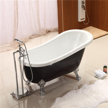 black tubs clawfoot soaking bathtub freestanding acrylic bath