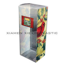 clear printing wholesale plastic cosmetic pvc packaging