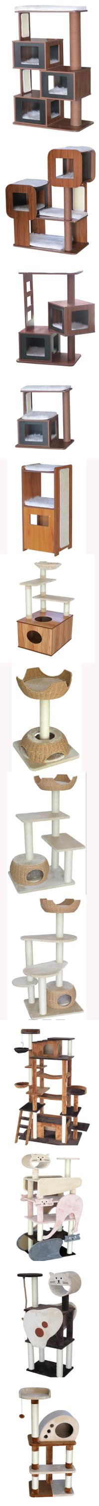 QQPET Factory Price Wholesale Pet Products Pet Toy Pet Bed Cat Tree