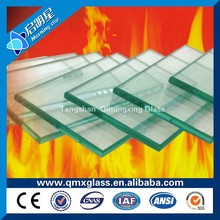 China factory insulated fireproof glass price with ISO&CCC