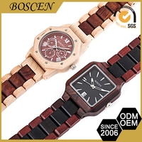 Luxurious Custom-Made 3 Atm Water Resistant Wewood Watch