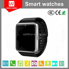 2015 3D G-Sensor watch phone, 2G phone watch factory wholesale competitive price smart watch GT08