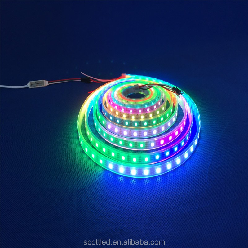 SK6812 IC Built-in SMD 5050 Digital Led Strip Full Color SK6812 60LEDs led light