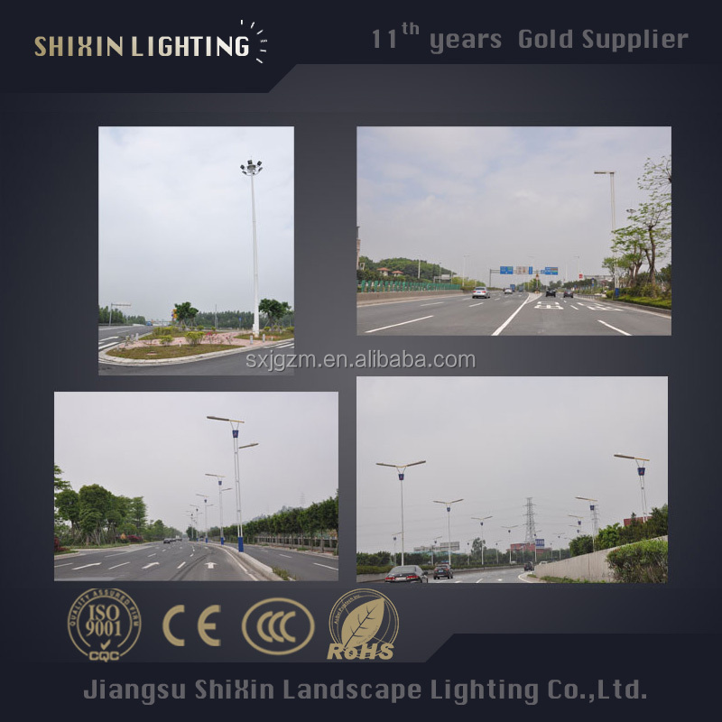 IP65 IP Rating High Mast for LED flood lights