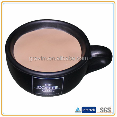 Coffee cup ball antis stress toy
