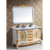 luxury bathroom design Solid wood bathroom mirror cabinet