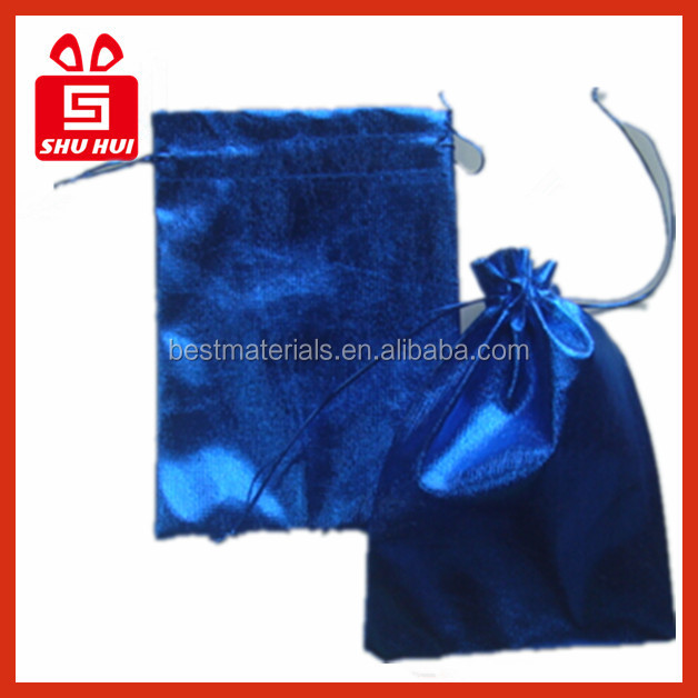 Satin bags for shoes packing handle satin drawstring pouch betty boop bag