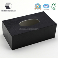 Black color paper extraction paper box