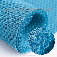100% polyester warp knitting sandwich mesh fabric