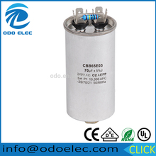 Manufacturer Supplier cbb65a 1 capacitor for wholesales