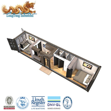 Custom Made Luxury 20 40 feet Container House