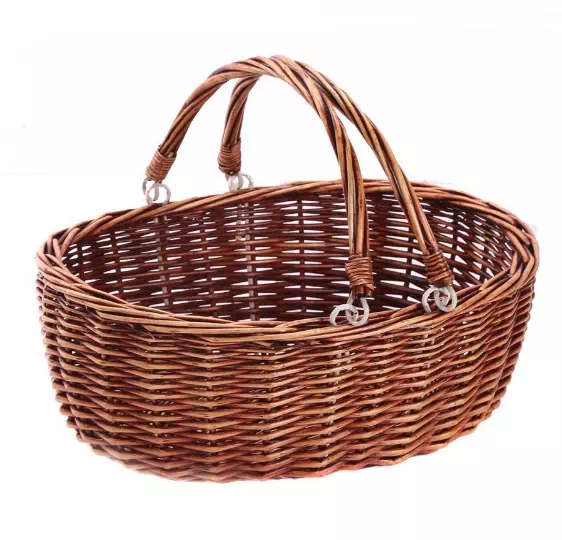 new wicker material storage baskets and willow baskets