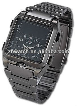 popular stainless steel watch hot sales for promotional gift