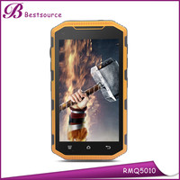 Hot 5 inch IP68 android Quad Core 1G 8G 3000mAh 2G 3G WIFI GPS BT rugged smartphone super slim mobile phone with price
