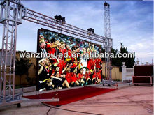 UH-LED hot sale indoor or outdoor P10 flexible moving led display for stage rental