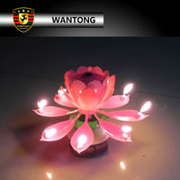 chinese lotus candle