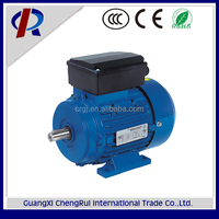 single phase electric ac motor 750rpm for fan motor 220 volt