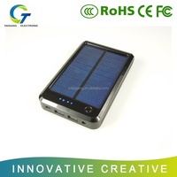 Portable Solar Power Bank/Backup Battery Charger with strong LED