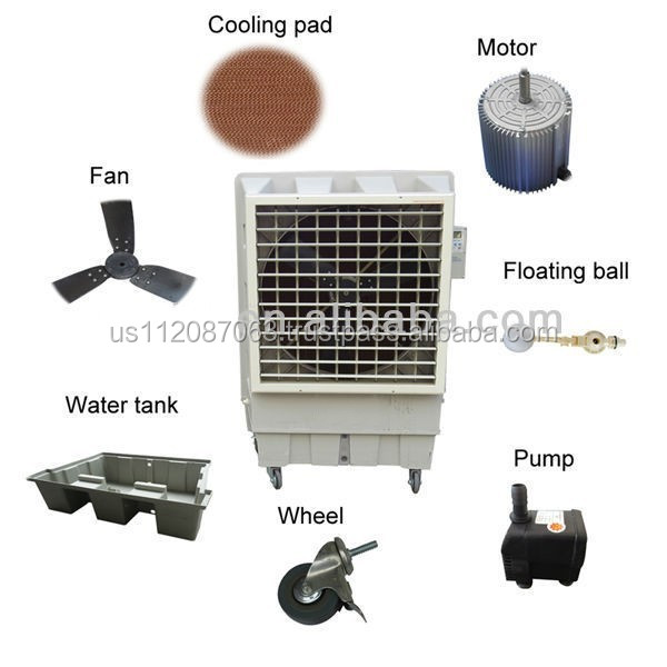 movable water cooler machine/portable water cooler/service life water cooler 18000CMH variable speed