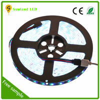 SMD 5050 DC12V IP65 flexible led strip with CE RoHS certification solar powered led strip lights 5050