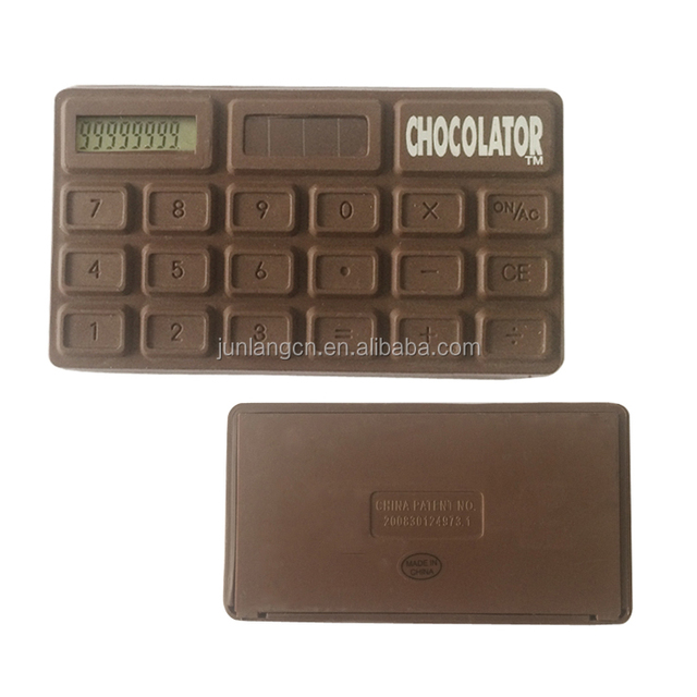 8 Digits Smell Of Chocolate Calculator Pocket Calculator Promotion Gift Calculator