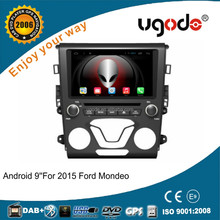"ugode HD 9"" android 4.4/5.1 car gps navigation with dvd player for ford mondeo"