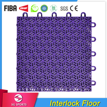 Multi-purpose new PP interlocking sports flooring