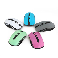 Computer Mice Cute mini Wireless Mouse 2.4ghz 1600DPI Pro Game Mouse mice Gift