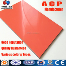 Wall Cladding Aluminium Composite Panel Acp Sheet Price